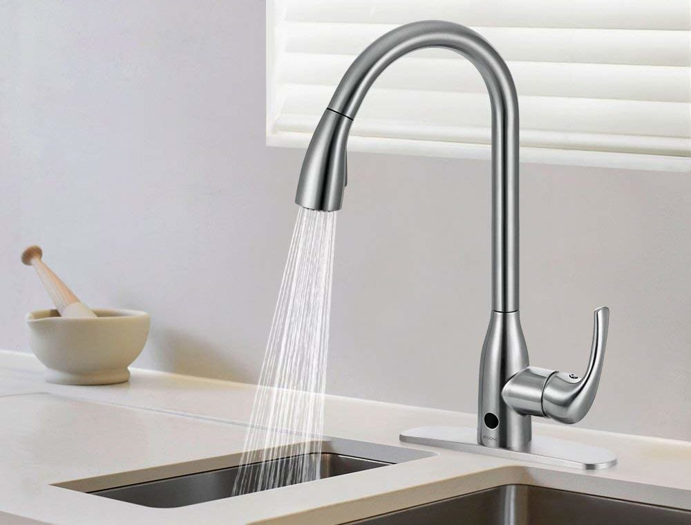 Best Touchless Kitchen Faucet In 2018 Kitchen Reviews