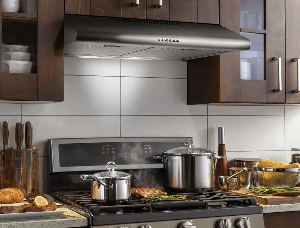 9 Best Range Hoods For Gas Stoves In Depth Guide Reviews