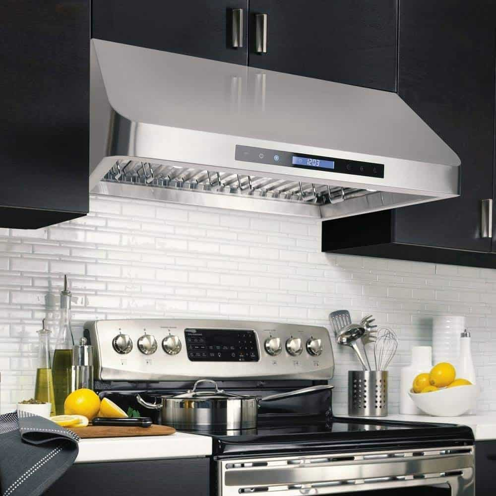 Ultra Quiet Range Hood For Kitchen Keep The Kitchen Calm Always