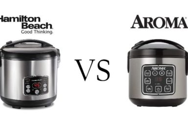 Hamilton Beach Vs Aroma Rice Cooker