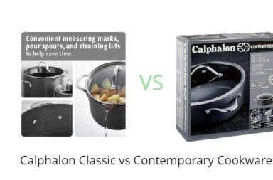 Calphalon Classic vs Contemporary Cookware