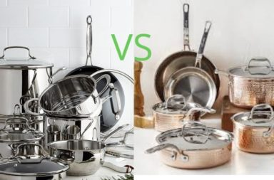 Stainless Steel vs Copper Cookware